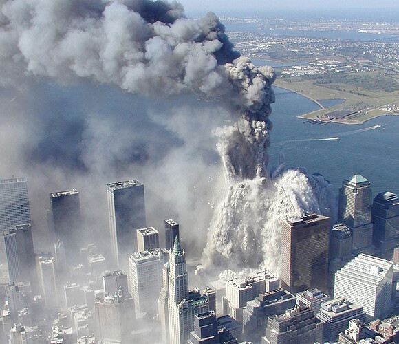 Towers Collapse.
